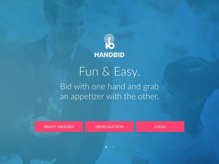 Handbid for iPad screenshot-0
