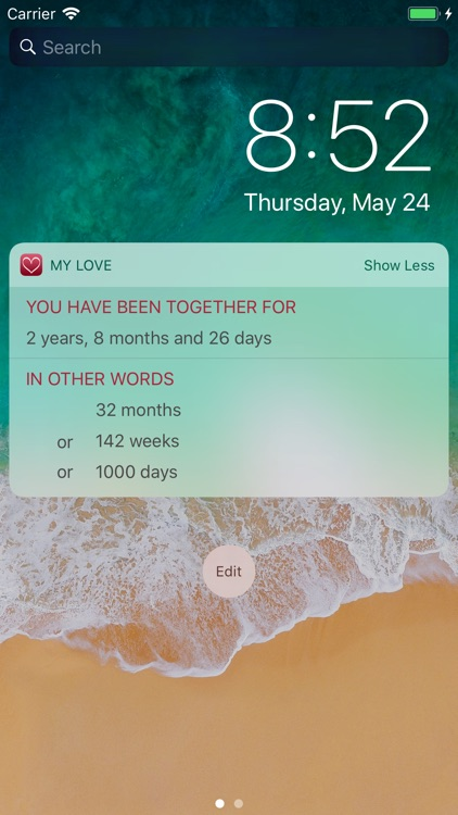 My Love - Relationship Counter screenshot-3