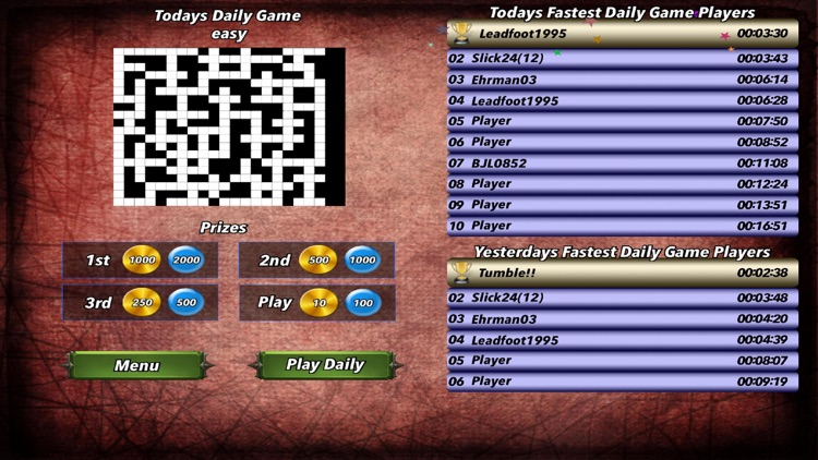 Multiplayer Crossword Puzzle screenshot-3