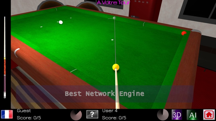 Carom Billiards screenshot-3