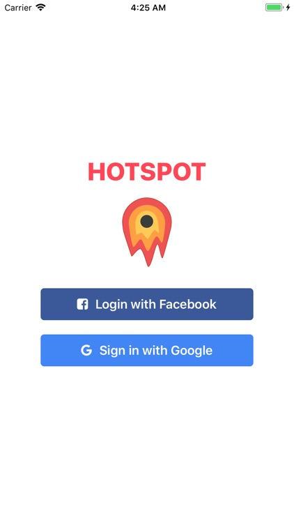 Hotspot - Share Events Nearby