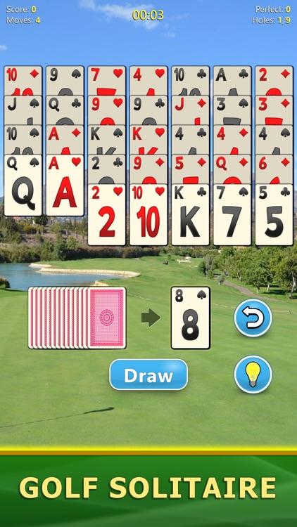 Golf Solitaire - Card Game screenshot-0
