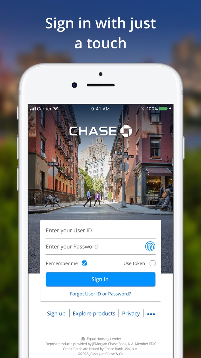 Chase Mobile® Screenshot