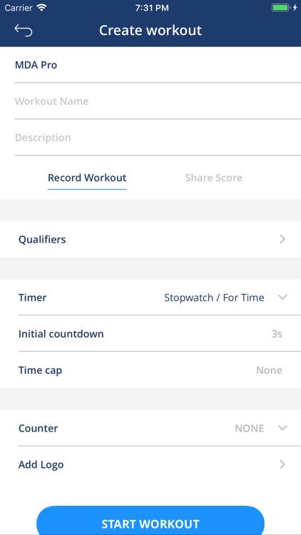 WODProof - Challenge your best screenshot-4