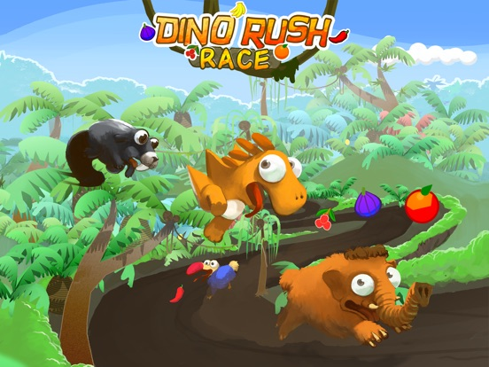 Dino Rush Race на iPad