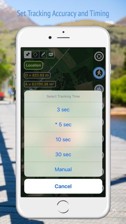 Planimeter GPS Area Measure screenshot-4