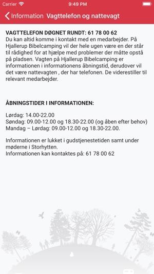 Hjallerup Bibelcamping I App Store