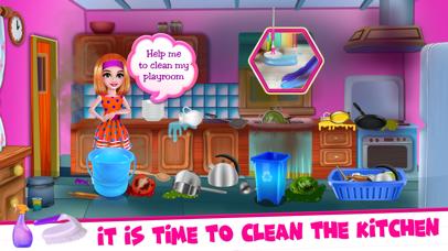 Pinky House Keeping Clean screenshot three