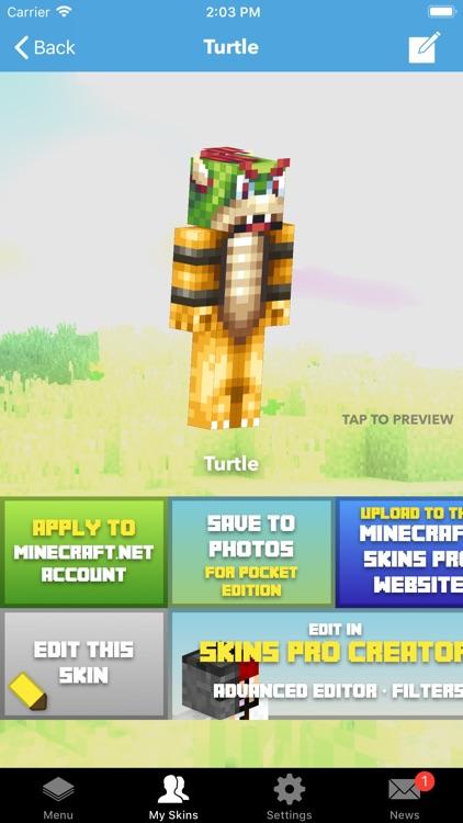 Skin Creator PE for Minecraft screenshot-3