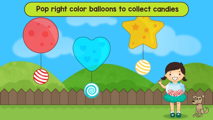 Shapes and colors learn games