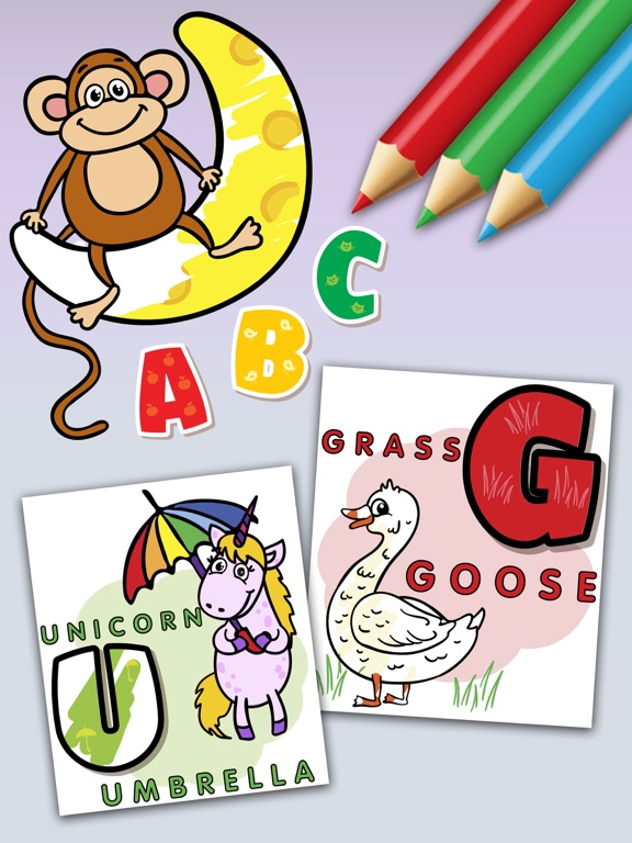 ABC Coloring Book Games | App Price Drops