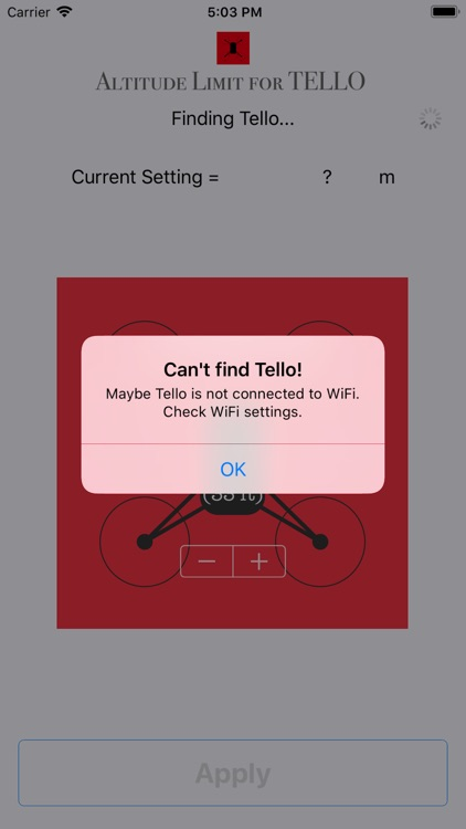 Altitude Limit for TELLO screenshot-3