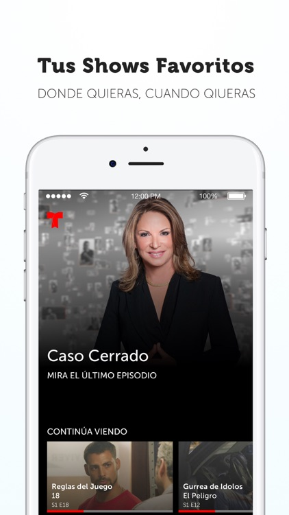 Telemundo Now screenshot-0