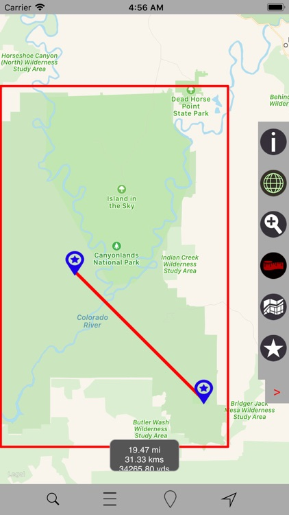 Canyonlands National Park GPS screenshot-4