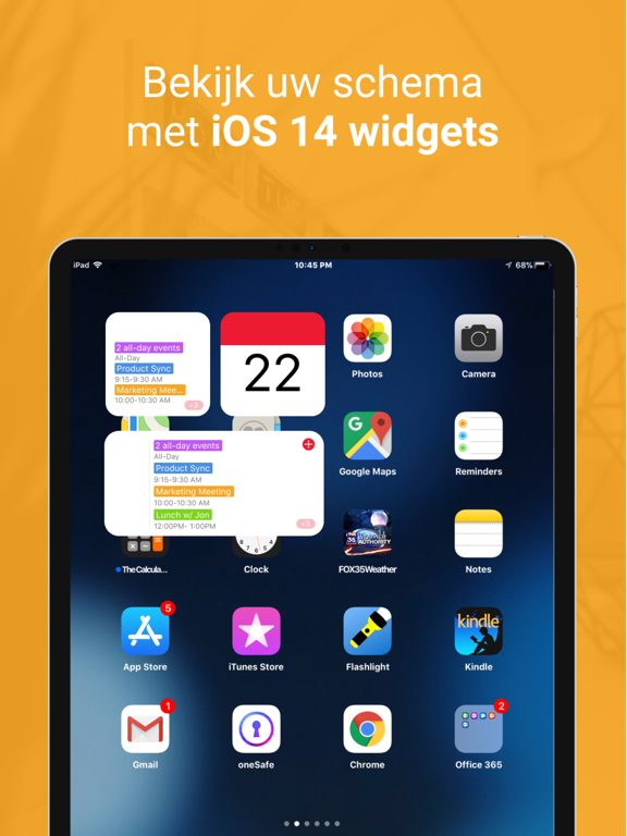 WeekCalendar - Cloud Kalender iPad app afbeelding 5