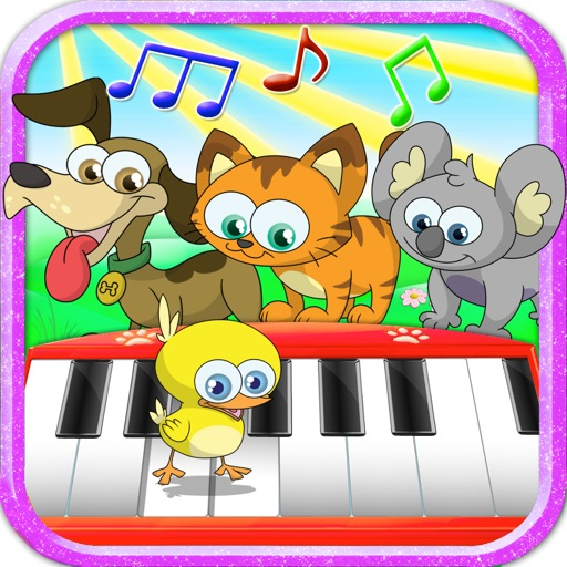 Kids Animal Piano Game