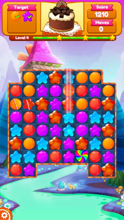 Sweet Candy Blast Fruit puzzle screenshot-9