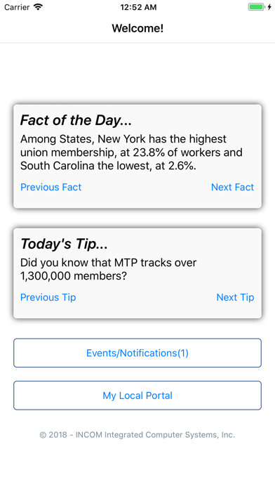 点击获取Membership Tracking Program