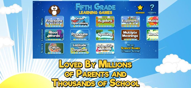 Fifth Grade Learning Games On The App Store