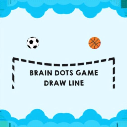Brain Dots Draw Line