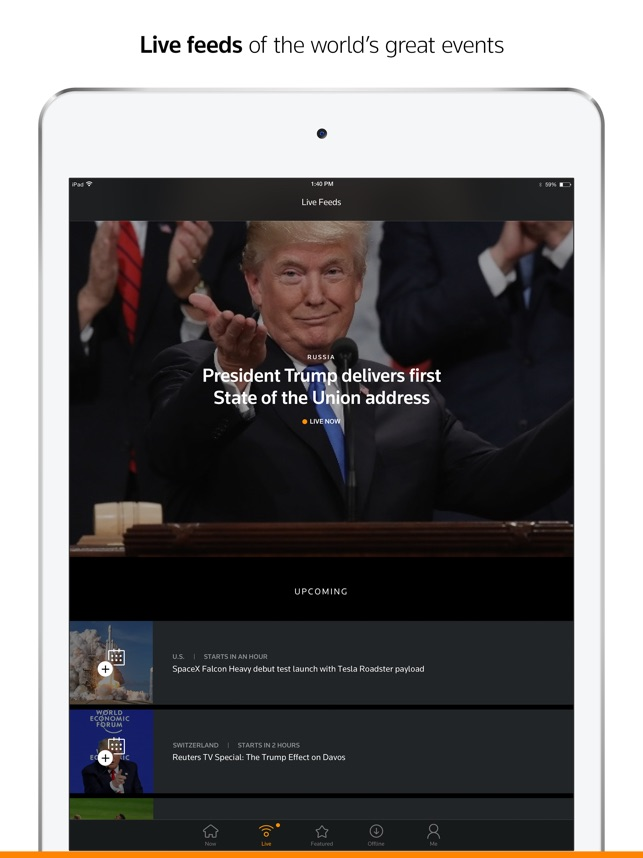 Reuters TV: Video News on the App Store