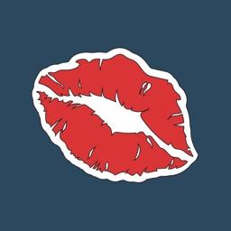 Sexy Kiss Lips Stickers