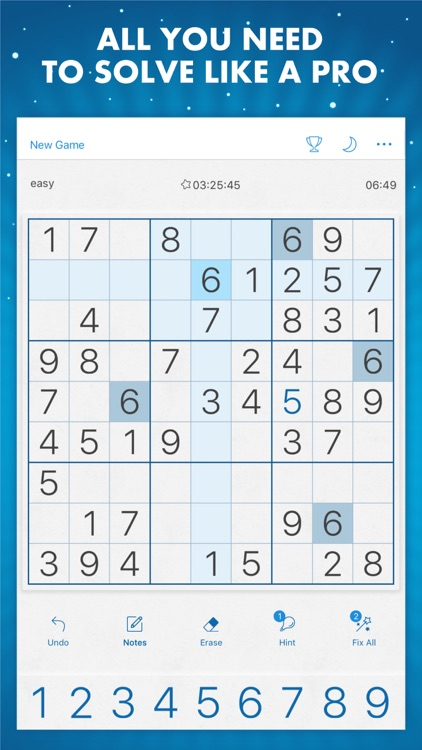 Sudoku Genuine Classic Puzzles screenshot-3