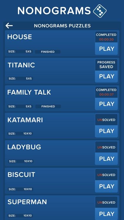 Nonograms : Picross Game screenshot-5