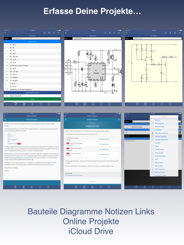 Electronic Toolbox Pro im App Store