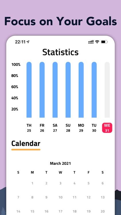 Habit Tracker & Reminder -Rise screenshot-5