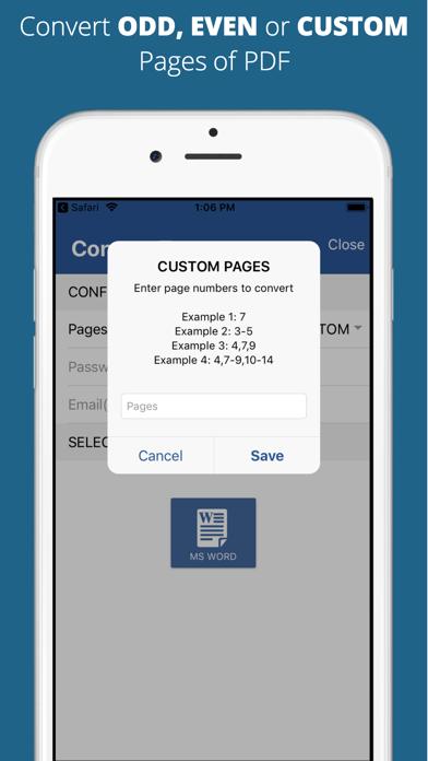 Aadhi PDF to Word Converter screenshot 4