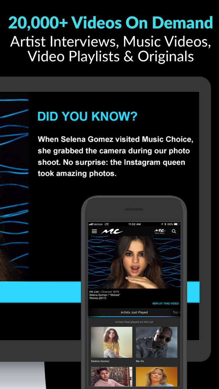 Music Choice Screenshot