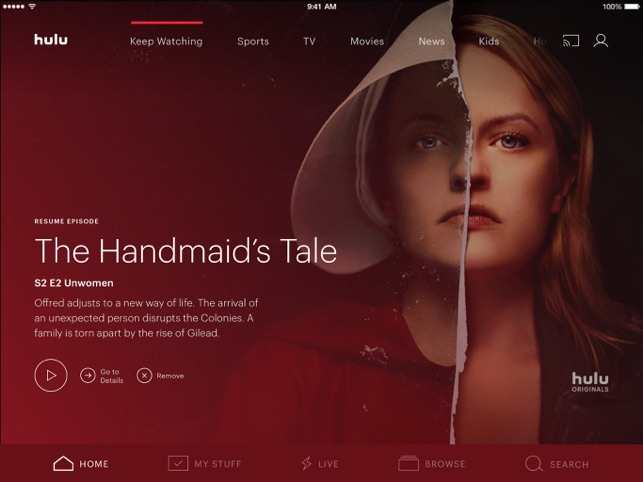 Hulu: Watch TV Shows & Movies Screenshot