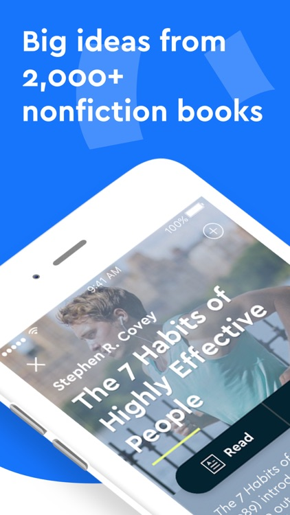 Blinkist: Read More Nonfiction screenshot-0