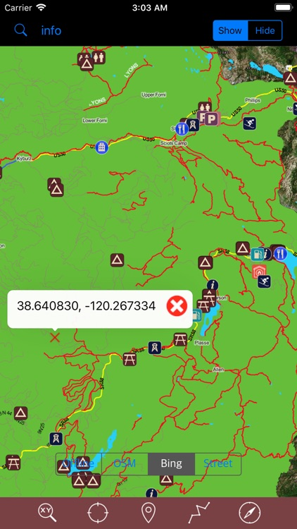 Eldorado National Forest – GPS screenshot-4