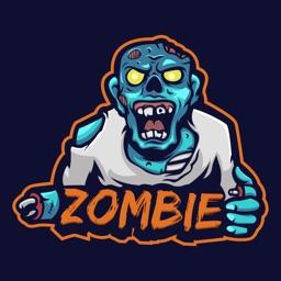 Zombie Survival Stickers