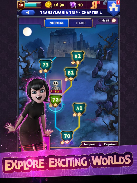 Скачать игру Hotel Transylvania: Monsters