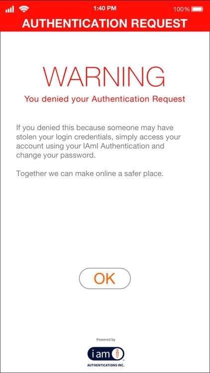 IAmI Authentication - Admin screenshot-4