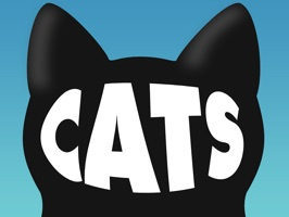 Cats Animated Text Stickers