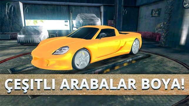 Car Painting Workshop Boyama App Store Da