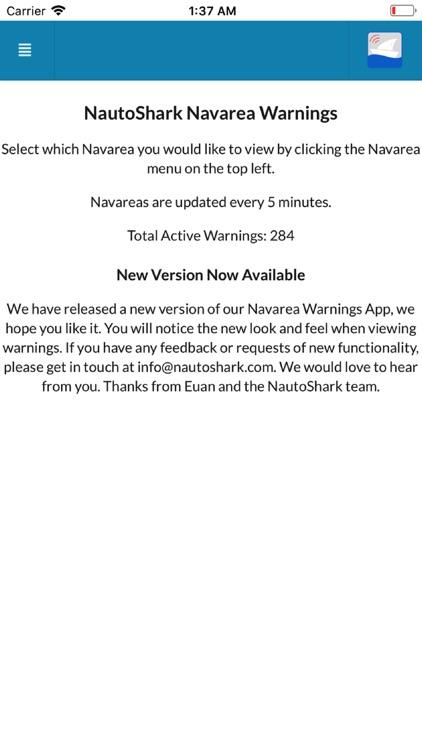 Navarea Warnings (Navtex)