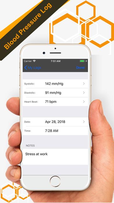 Blood Pressure Tracker - Proのおすすめ画像3