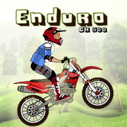 Enduro CR500 Bike Racing