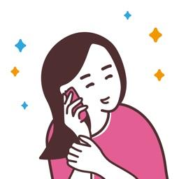 話してスッキリ-プレママ・ママ限定のチャットアプリ