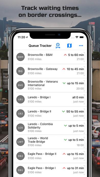 Queue Tracker screenshot two