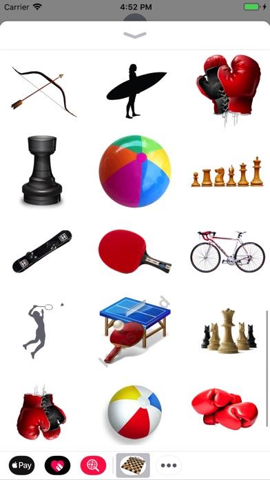 Sport Stickes! screenshot 2