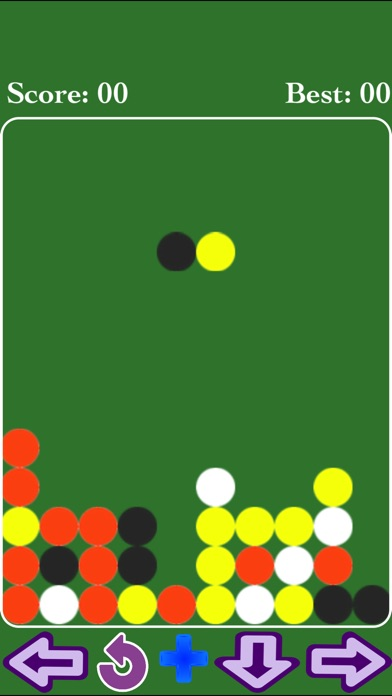 Balls 4 in a Row Game screenshot 1