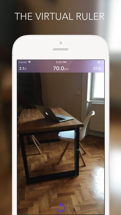 iRuler - best virtual AR ruler