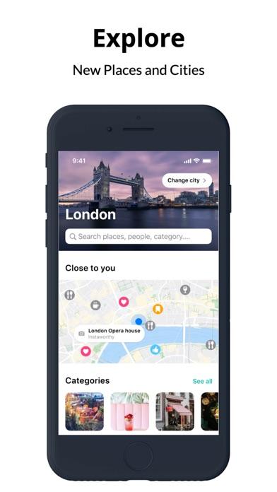 Screenshot #1 pour Grabbd- Social Foodie & Travel