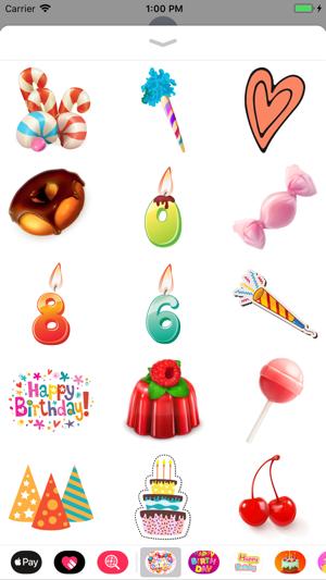 Happy Birthday Cards Emoji App 4